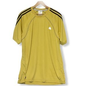 Adidas Yellow Clima365 Exercise Top Large